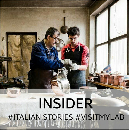 inside an italian coppersmith workshop insider visitmylab italianstories