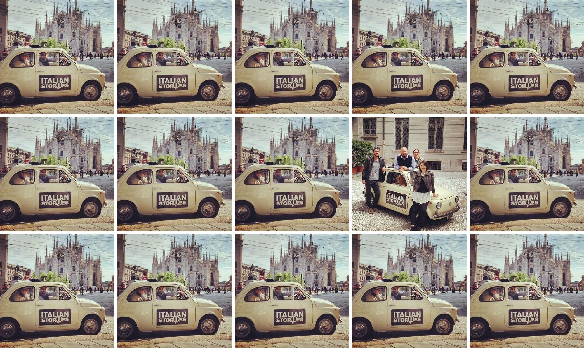 italian stories team in tour al fuorisalone di milano