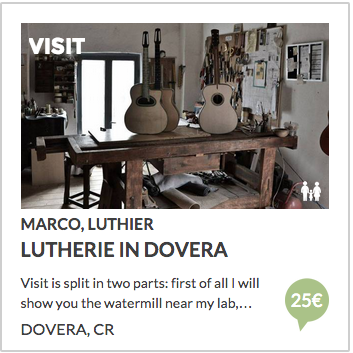 guitars lutherie in dovera, cremona