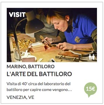 visita battiloro a venezia con italian stories