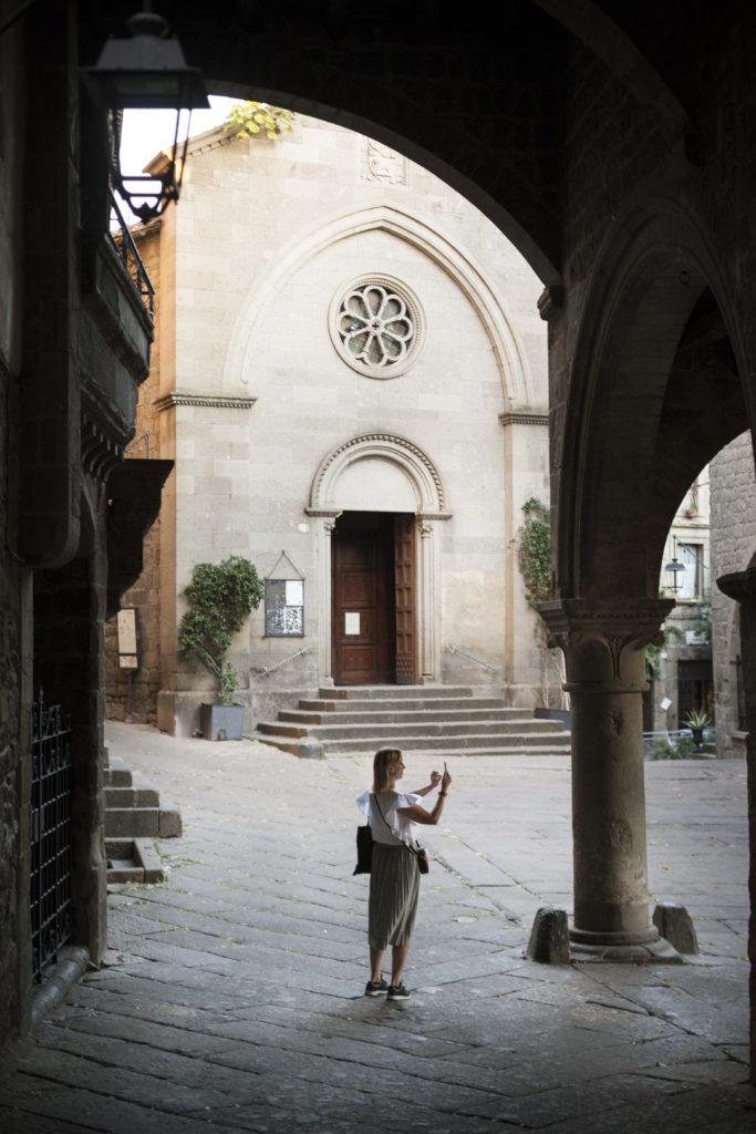 Viterbo old town